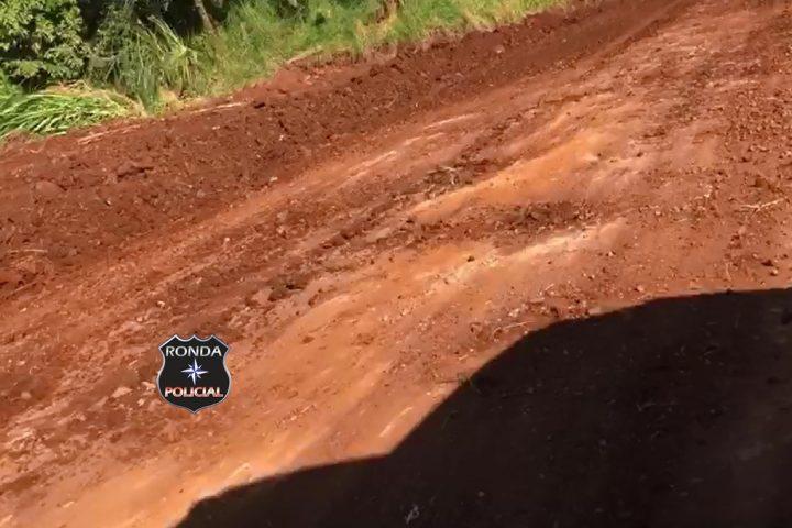 Ouça – Internauta aponta para desleixo em trabalhos de melhorias das estradas do interior de Xanxerê