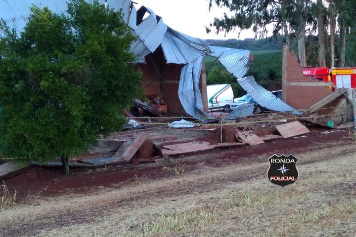 Defesa Civil conclui levantamentos de danos causados por vendaval em Lajeado Grande