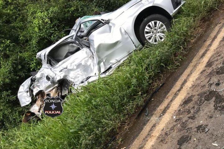 Grave acidente resulta em mais um óbito na BR-282