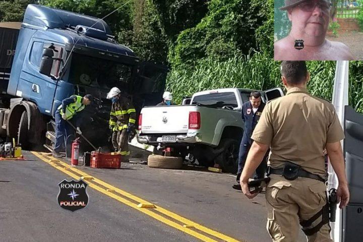Identificada vítima de grave acidente registrado na SC-283
