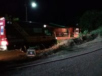 Incêndio consome residência no centro de Entre Rios
