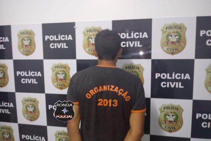 Polícia Civil prende terceiro estuprador condenado pela justiça em Ipuaçu
