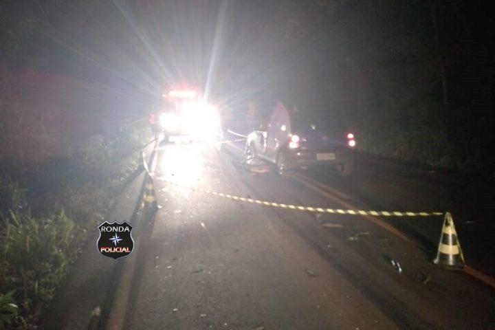 Pedestre morre atropelado por carro na SC-480