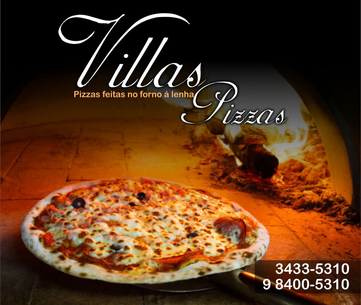 Villas Pizza Interno