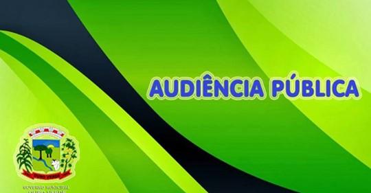 Acontece no dia 28 de Maio Audiência Publica relativa ao Primeiro Quadrimestre de 2019 no Município de Ouro Verde