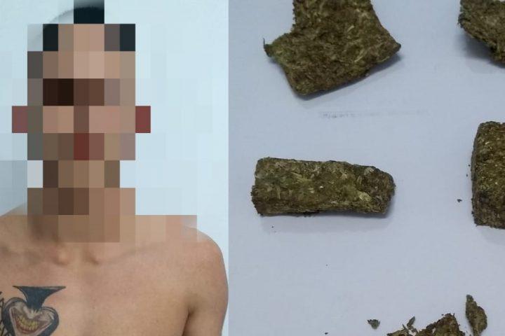 Jovem é preso pela Polícia Civil por tráfico de drogas