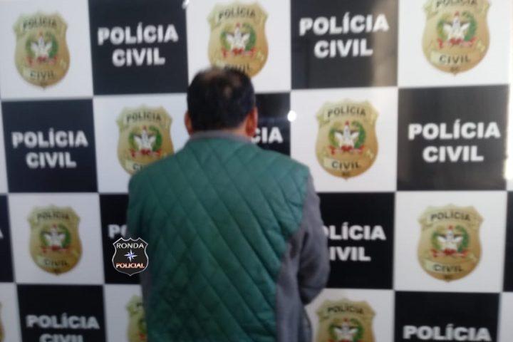 Policia Civil prende homem condenado por estupro em Ipuaçu