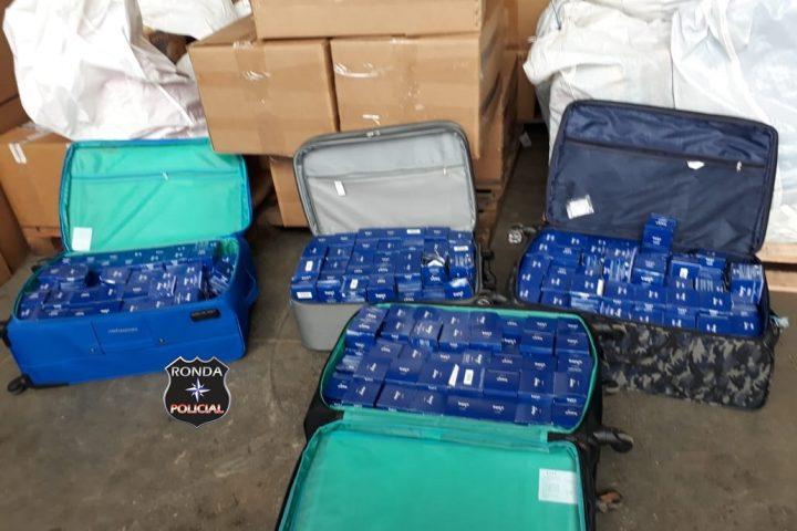 Polícia Federal apreende cosméticos contrabandeados