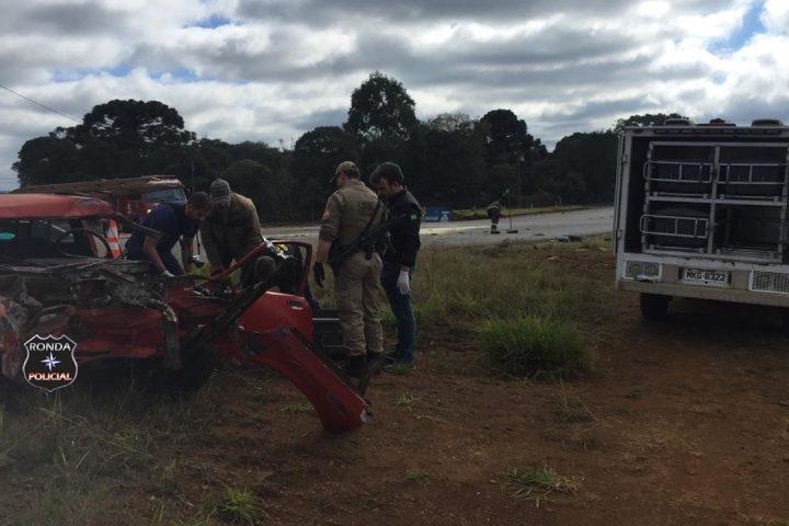 Motorista embriagado provoca acidente que deixa uma vítima fatal e outra gravemente ferida