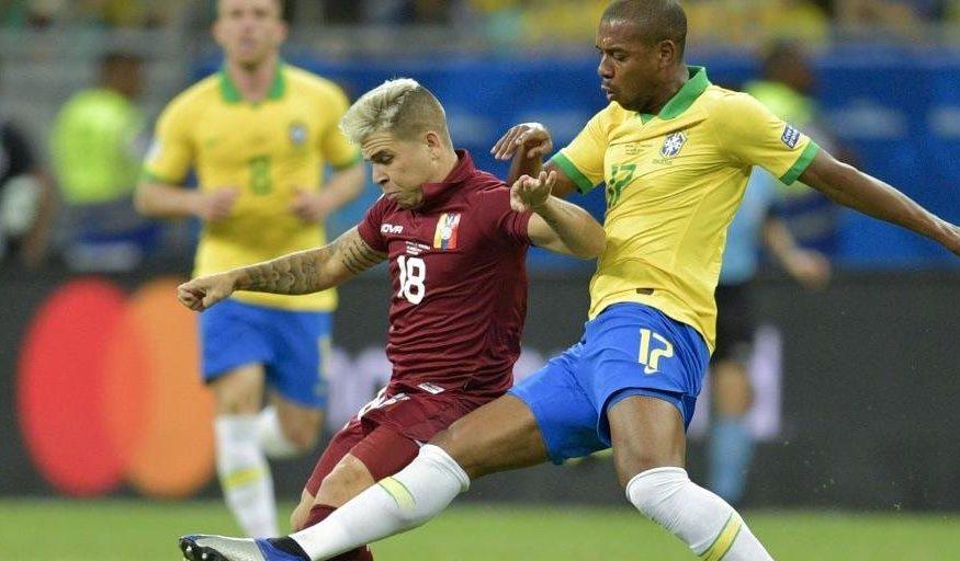 Brasil tem dois gols anulados pelo VAR e fica no 0 a 0 com a Venezuela na Fonte Nova