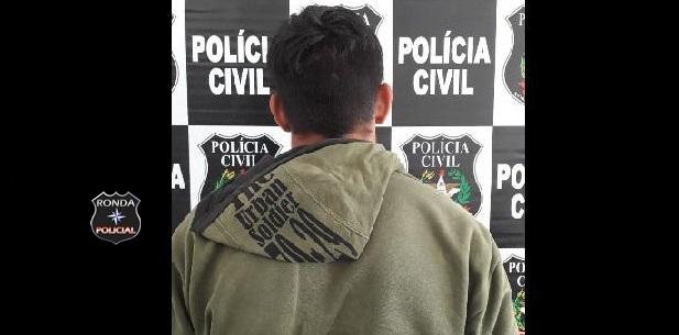 Polícia Civil cumpre mandado de prisão contra jovem suspeito de cometer abuso sexual