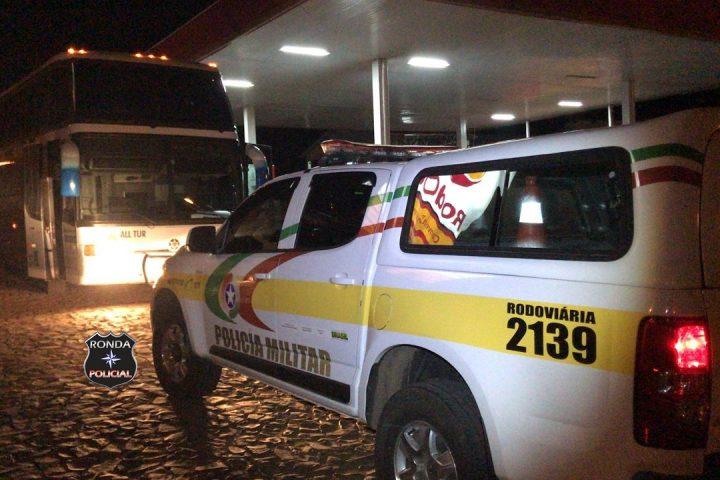 Passageiro de coletivo gaúcho é flagrado transportando cerca de R$ 16 mil em mercadorias contrabandeadas no Oeste