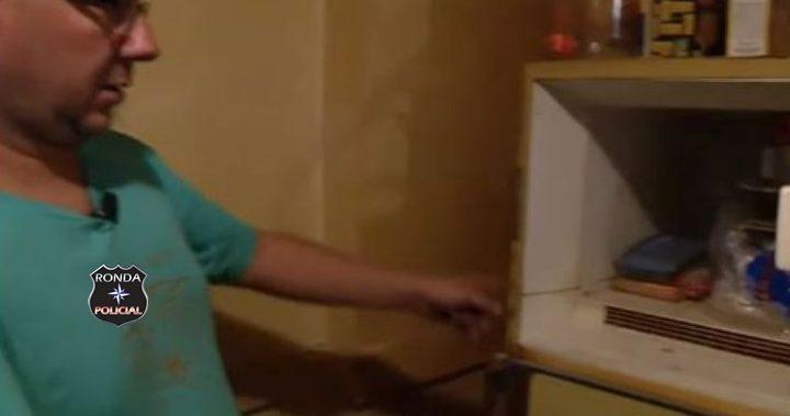 Homem encontra bebê congelado no freezer de sua mãe