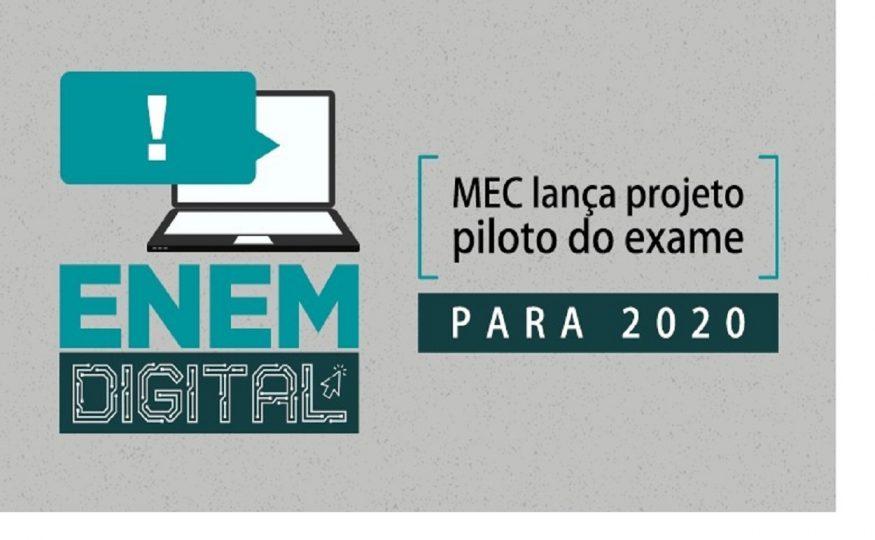 Ministério da Educação anuncia que Enem terá prova digital em 2020 ...