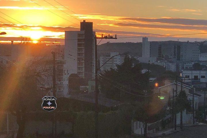 Sexta-feira amanhece com sol no Oeste de Santa Catarina