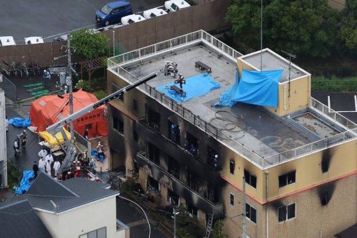 13 pessoas morrem carbonizadas durante incêndio em estúdio de animação