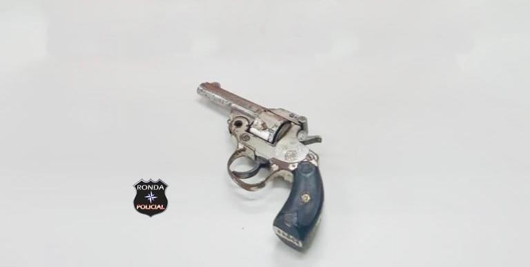 Após receber denúncia Polícia Civil apreende revólver em propriedade rural na cidade de Xaxim