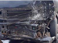 Carro parte ao meio e ocupantes são mutilados em violenta colisão com carreta