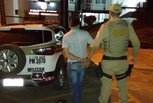Homem é preso em flagrante ao furtar moto no centro de Xanxerê