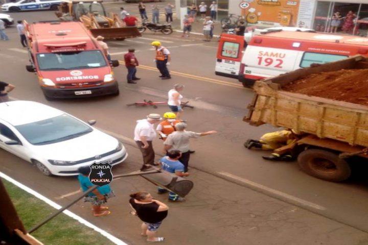 Filho de pastor de apenas 11 anos morre atropelado por caminhão enquanto andava de bicicleta