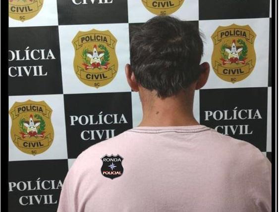 Polícia Civil cumpre mandado de prisão em desfavor de homem de 39 anos