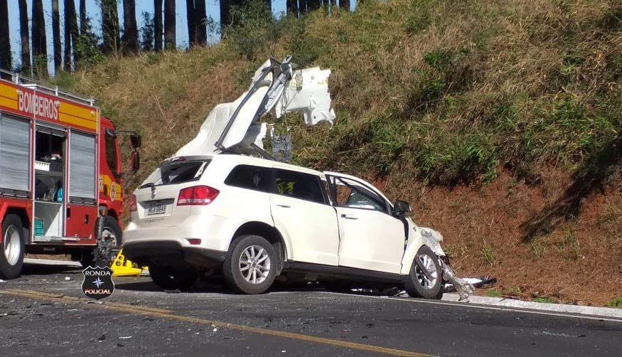 Identificada vítima de grave acidente na BR-282 em Xanxerê