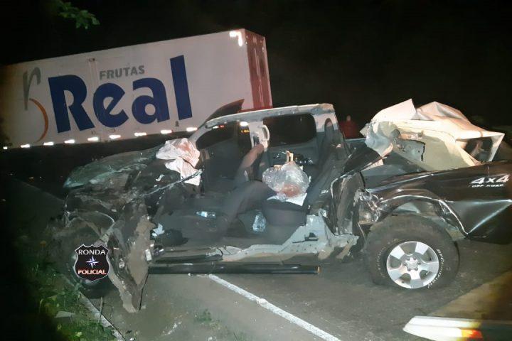 Identificada vítima de grave acidente na BR-282