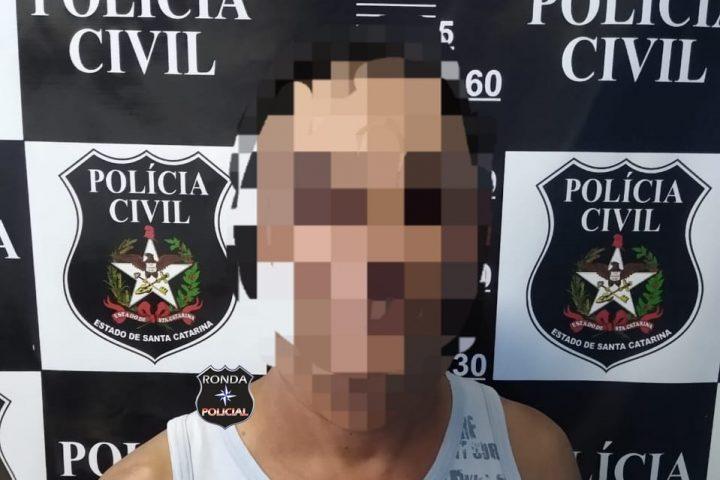 Polícia Civil prende homem condenado pela justiça por violência doméstica