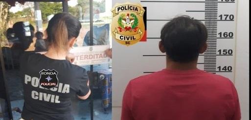 Polícia prende homem que esfaqueou jovem em bar