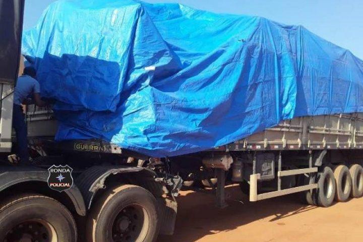 Colisão envolvendo duas carretas deixa uma pessoa sem vida