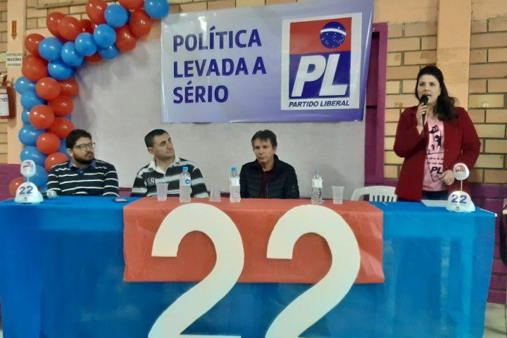 Lideranças de Xanxerê participam do lançamento da pré-candidatura de Fernanda Paglia em Ponte Serrada