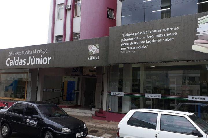 Xanxerê é contemplada com recurso para revitalização da Biblioteca Pública