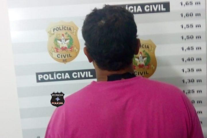 DIC prende em Xanxerê homem que devia cerca de R$ 2 mil de pensão alimentícia