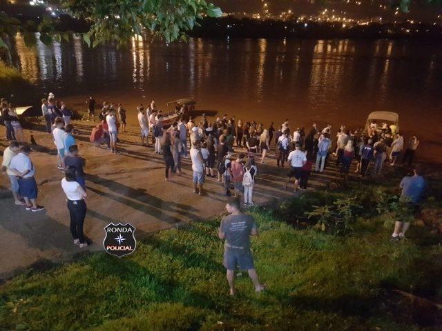 Embarcação com estudantes naufraga ao realizar travessia do Rio Uruguai