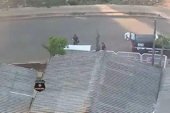 Fotos e vídeo: Ação conjunta entre DIC e Saer resulta na prisão de integrantes de facção criminosa no Oeste