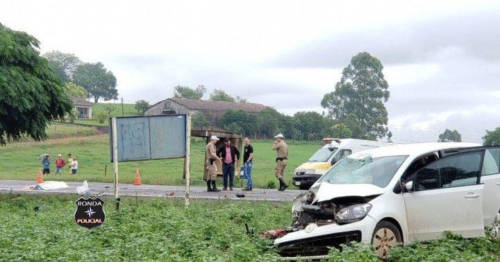 Motociclista perde a vida em acidente na SC 163