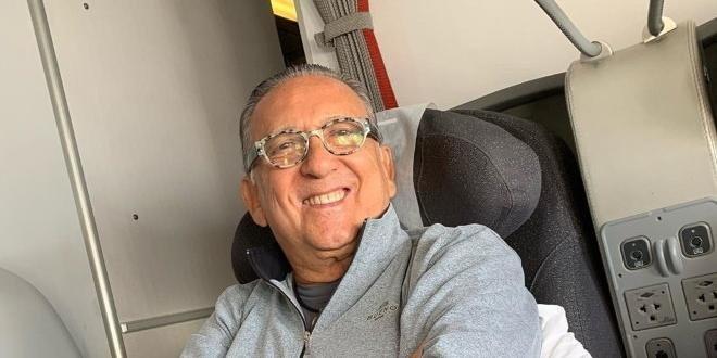 Galvão Bueno passa por cirurgia em Lima e não vai narrar final da Libertadores