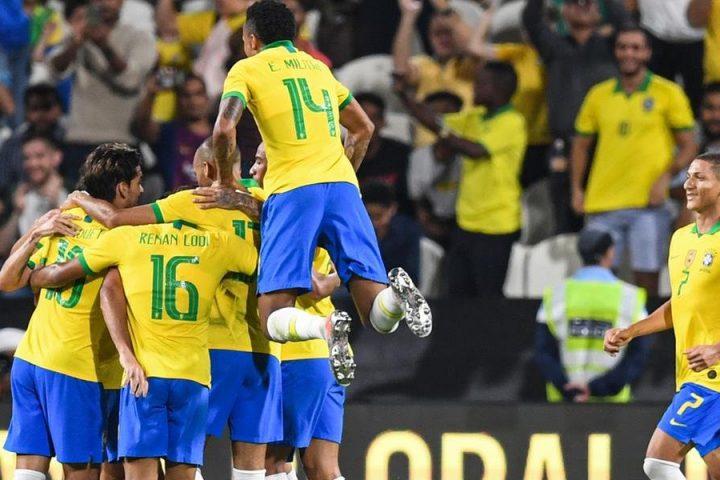 Brasil vence a Coreia do Sul por 3 a 0 em amistoso