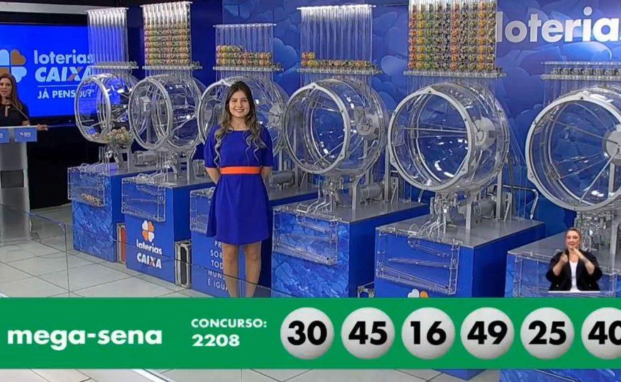 Ninguém acerta as seis dezenas e prêmio da mega acumula para R$ 13,5 milhões