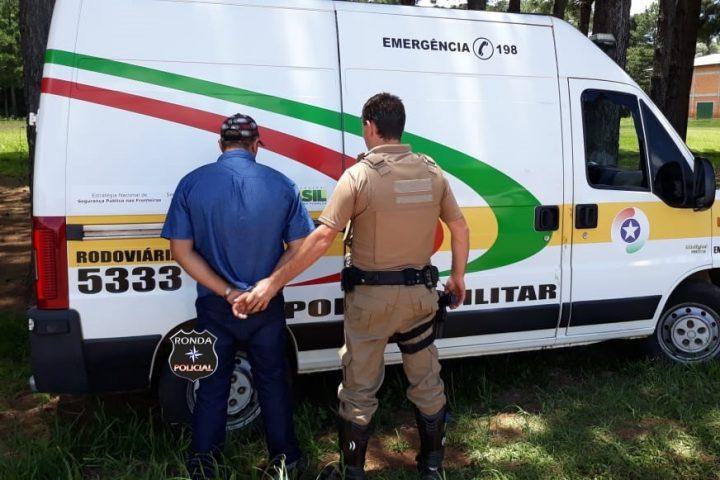 Polícia Militar Rodoviária Estadual prende motorista em flagrante de posse de CNH
