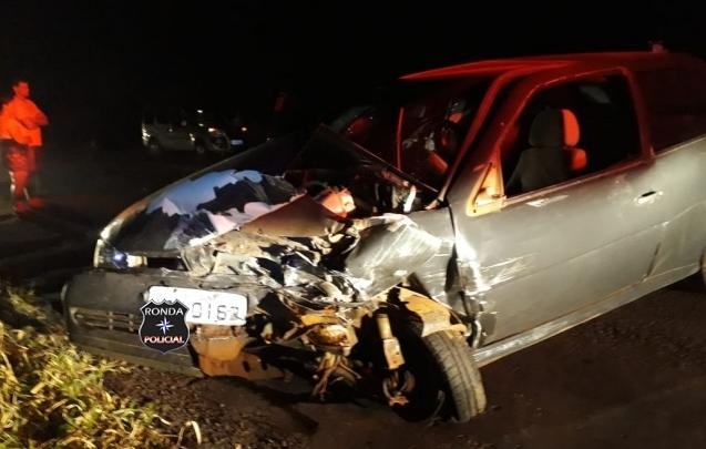 Veículo de Xaxim se envolve em engavetamento com sete vítimas na BR-282