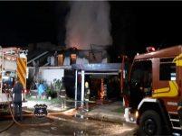 Incêndio em residência é registrado durante a madrugada em Xanxerê
