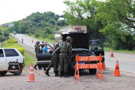 Exército Brasileiro aumenta segurança nas fronteiras para as festas de fim de ano