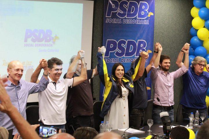 Geovania é a primeira mulher a presidir o PSDB em Santa Catarina