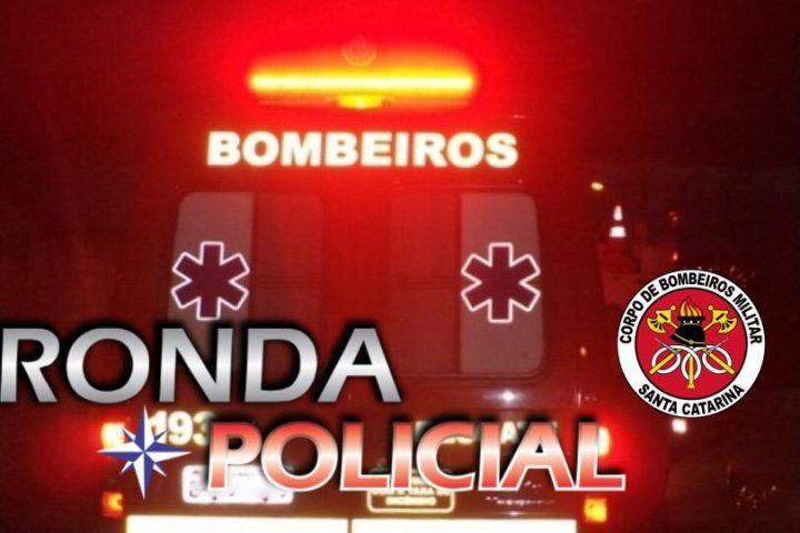 Mulher e encaminhada em estado grave ao hospital após sofrer queda do quarto andar de edifício durante a madrugada