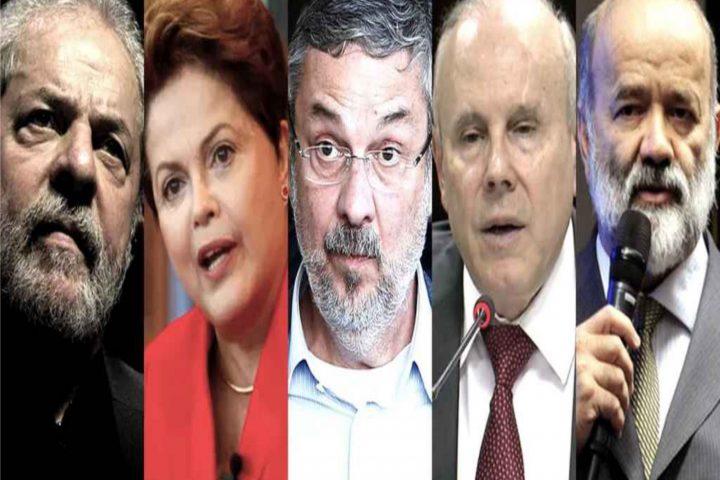 Justiça absolve Lula, Dilma, Palocci, Mantega e Vaccari no processo do 'quadrilhão do PT'