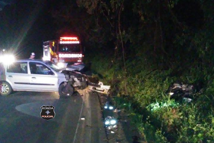 Identificadas vítimas de grave acidente que vitimou motociclista na 282