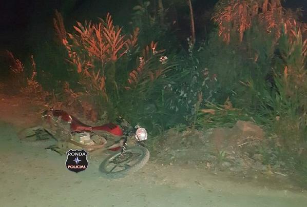 Motociclista morre em grave acidente em comunidade rural