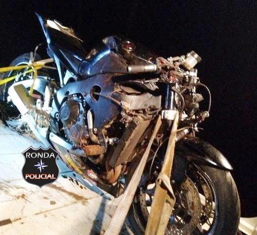 Motociclista tem perna amputada após acidente de trânsito