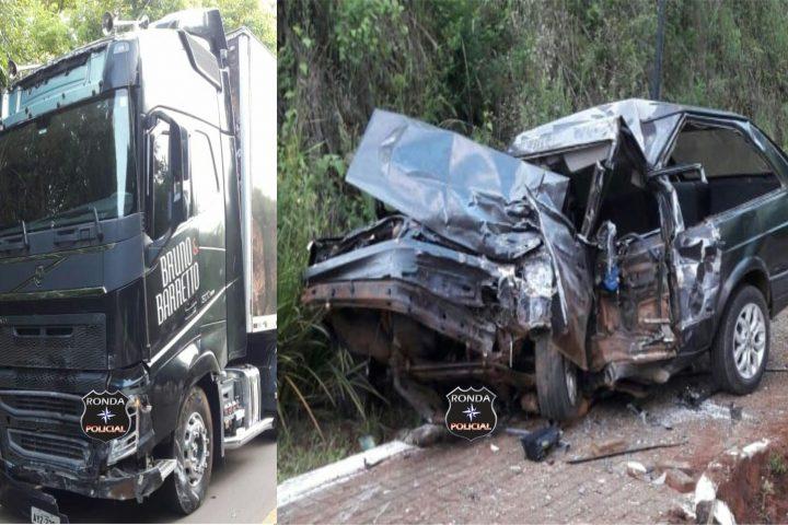 Carreta dos sertanejos Bruno e Barretto se envolve em acidente com morte no Oeste